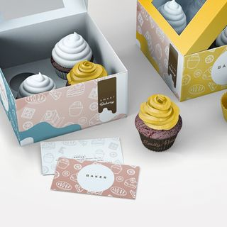 The joy of receiving custom Printed cupcake boxes