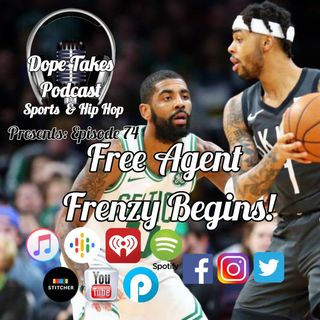 Free Agent Frenzy Begins!