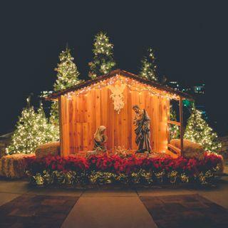 Mary's birthing Jesus story
