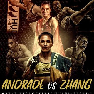 Preview Of UFC 157 From China Headlined By Strawweight World Title Clash Between Jessica Andrade Vs Weili Zhang