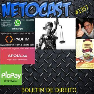 NETOCAST 1357 DE 28/09/2020 - BOLETIM DE DIREITO