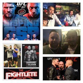 """UFC 217 Fightlete Report Special """"Fight Week"""" PodcastMixdown"""
