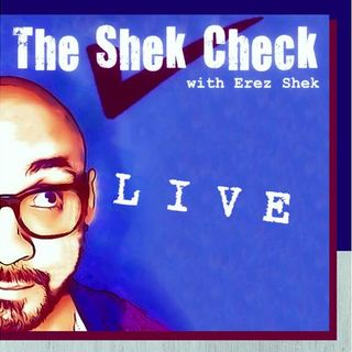 The Shek Check:  Special Guest Erika Reva, Mental Health Speaker & Podcast Host