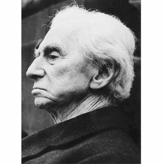 Bertrand Russell, Mathematiker und Philosoph (Todestag 2.2.1970)