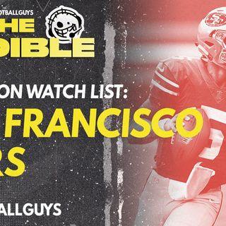 2021 Fantasy Football - San Francisco 49ers Preseason Watch List