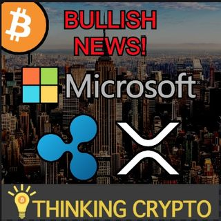 BULLISH NEWS! Microsoft Crypto Mining Body Activity Patent - Ripple ODL XRP Trading Platform