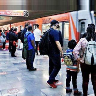 El Metro madrugador de la Línea 6 se atora a las 5:45 horas, en cambio de vía, 5 largas horas sin servicio.