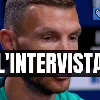 Inter, riascolta l'intervista di Edin Dzeko a DAZN in un minuto