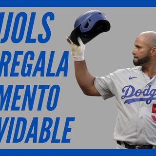 MLB: ALBERT PUJOLS contra sus CARDENALES pone a TODOS de pie