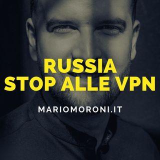 Russia: stop ai più diffusi servizi di Vpn
