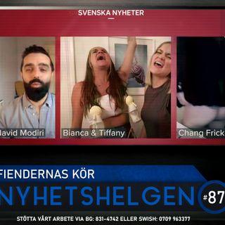 Nyhetshelgen #87 – Fiendernas kör, Ingrid&Maria friade, heja Danmark