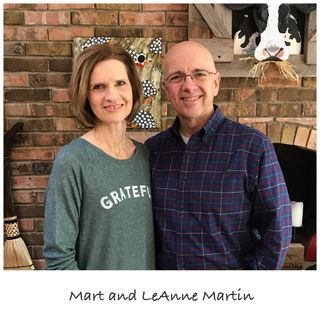 Episode 012 - Mart and LeAnne Martin
