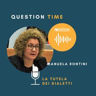 QT#8 Manuela Rontini - La tutela dei dialetti