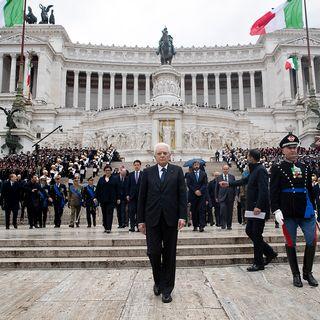4 Novembre, Mattarella a Roma: «Non temo ritorno al passato»