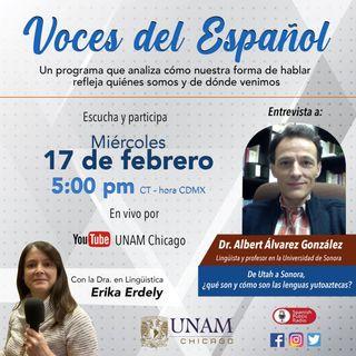 VOCES DEL ESPAÑOL 067  Invitado el Dr. Albert Álvarez