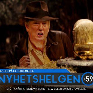 Nyhetshelgen #59 – Jakten på ett botemedel, kändisar & privatliv, vad händer i svensk politik?
