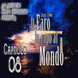 Audiolibro il Faro in capo al Mondo - Jules Verne - Capitolo 08