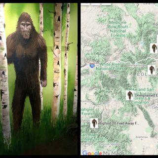 SnowBoarder Sees Bigfoot Type Creature, Aspen, Colorado 2006