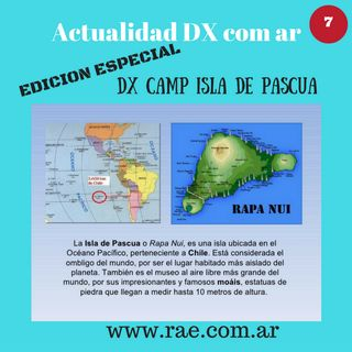 DX 06 DX CAMP Isla de Pascua