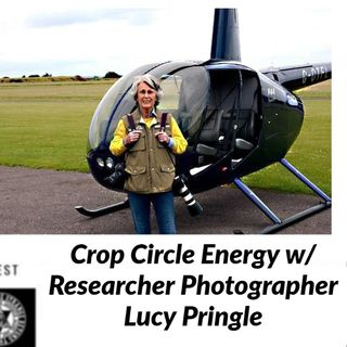 Crop Circle Energy w/ Researcher Photographer Lucy Pringle 6-21-20