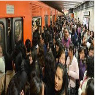 Metro reporta saturación en 9 de sus 12 líneas