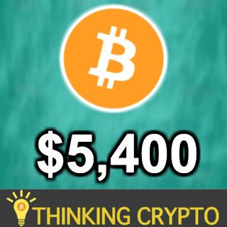BITCOIN PASSES $5,400! - CME Bitcoin Futures Longs Up 88% - Ripple Xpring Bain Cap - Ethereum Dapps