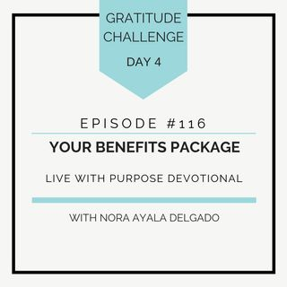 #116 GRATITUDE: Your Benefits Package