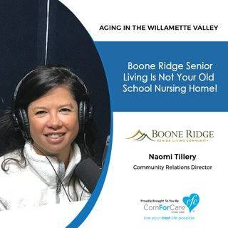 11/5/19: Naomi Tillery with Boone Ridge Senior Living | Boone Ridge Senior Living is not your old school nursing home!