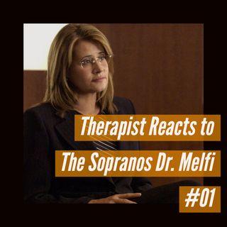 Therapist Reacts to The Sopranos Dr. Melfi #01