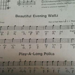 Beautiful Evening - Guitar