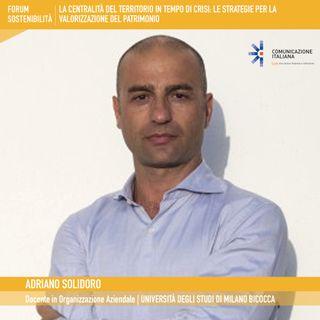 Forum Sostenibilità 2021, 3°giornata | Digital Talk + Open Talk | La centralità del territorio in tempo di crisi