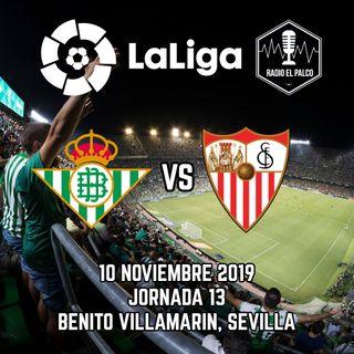 Real Betis vs Sevilla en VIVO