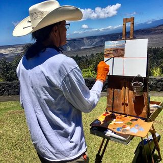 Big Blend Radio: Artist Alice Leese in Hawaii Volcanoes National Park