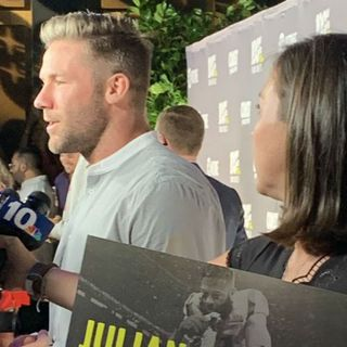 Stars, Patriots Walk Red Carpet For Julian Edelman Documentary