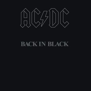 AC/DC Classic Album Back In Black of the week