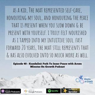 Kundalini: Path To Inner Peace with Arezu