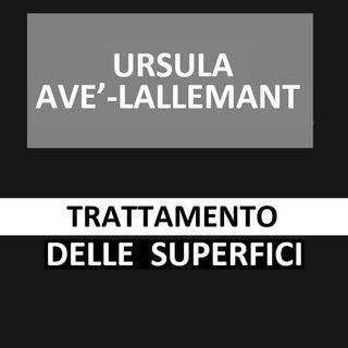 58 - Trattamento delle superfici - Ursula Avè - Lallemant