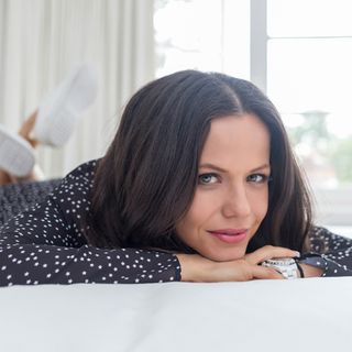 Tammin Sursok On the Couch