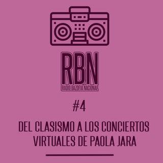 Del clasismo a los conciertos virtuales de Paola Jara