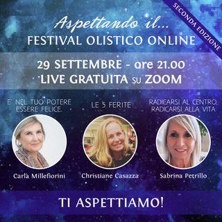 Aspettando il...Festival Olistico Online 2