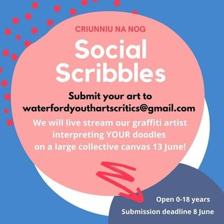 Sean Crowe of Waterford's Young Arts Critics tells us about Social Scribbles