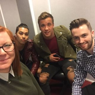 X Factor's Sam Callahan says the judges aren't even needed any more as he and pal Jude Read discuss Just Tattoo Of Us