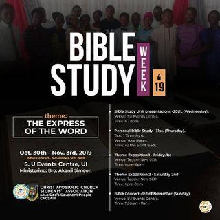 THE WORD - Ishola Debbie