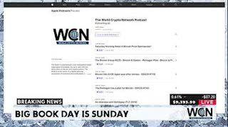 Sunday Bitcoin, News and Talk Show - Big Book Day - $9375 #THS