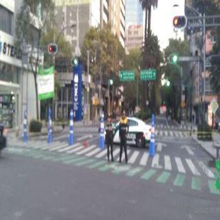 Continúan cierres vehículares en calles de la CDMX