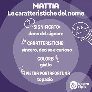 Mattia, nome per bambino: origine, significato, onomastico