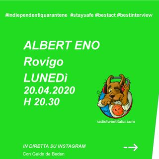 #QUARANTINE - vengo dopo il tg - Albert Eno