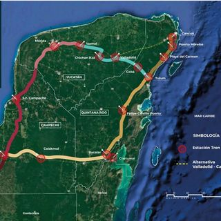 Mota-Engil ganó el primer tramo del Tren Maya