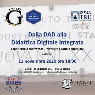 L'ACBLL presenta dalla DaD alla  Didattica Digitale Integrata. Esperienze a confronto:  Università e Scuola superiore (SECONDA parte)