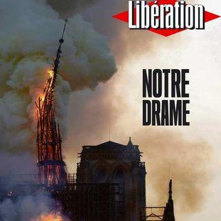 #LaCafeteraNotreDrame .- Arde el símbolo de la cultura europea, de la universal, de la memoria cristiana, del cristianismo,..